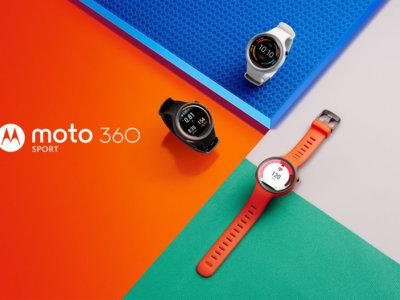 Moto 360 Sport llega a Google Store, sólo disponible en Estados Unidos a un precio de 299.99 dólares