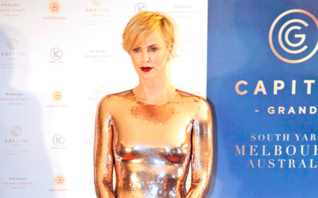 Charlize Theron, la mujer de oro