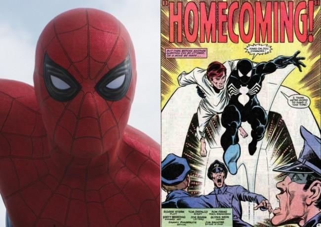Spider-Man y el cómic Homecoming