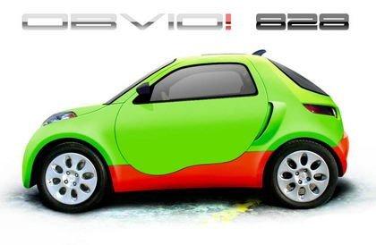 """OBVIO ! 828, el primer coche """"tríbrido"""""""
