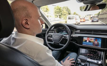 Audi A8 Piloto Automatico Atascos