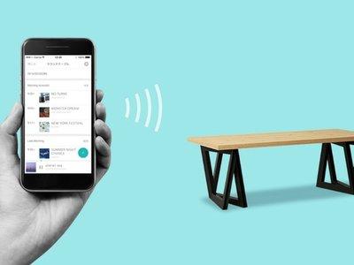 Sound Table, la mesa que convierte su superficie de madera en un altavoz gigante