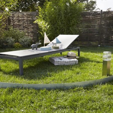 Vacaciones de relax total: un jardín para la siesta