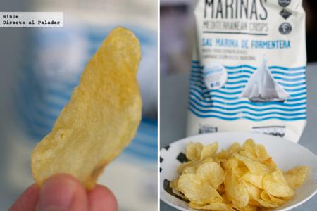 Patatas chips marinas - detalle