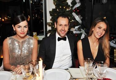 Navidad es sinónimo de fiestas: Inauguración de la tienda Salvatore Ferragamo en Londres