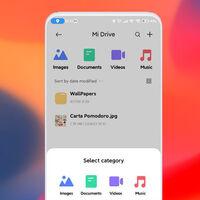 Xiaomi renueva la interfaz de Mi Drive adaptándola al diseño que llegará junto a MIUI 13