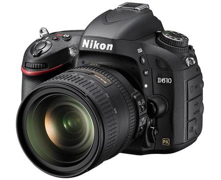 Nikon D610, todo sobre la nueva réflex full frame con obturador optimizado