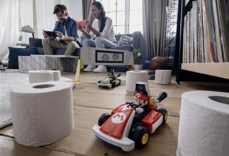 El mayor peligro en Mario Kart Live: Home Circuit no es un caparazón azul, sino un gato real