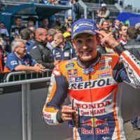 Marc Márquez se pone a los mandos y da un golpe de timón en Holanda. Rossi y Lorenzo naufragan