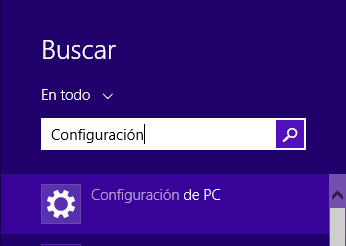restaurar sistema windows 8 paso 1