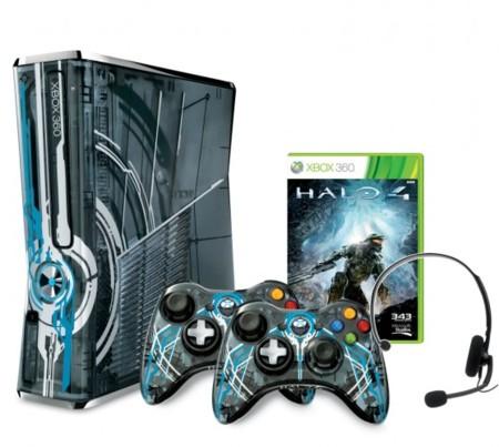 Así es la Xbox 360 edición limitada Halo 4