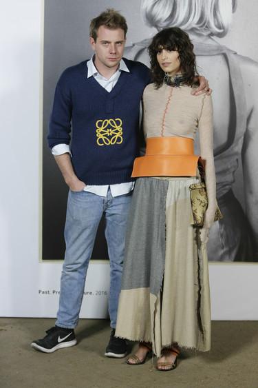 Nadie quiso faltar a la cita con Jonathan Anderson en la inauguración de Casa Loewe Madrid