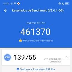 benchmarks-del-realme-x2-pro