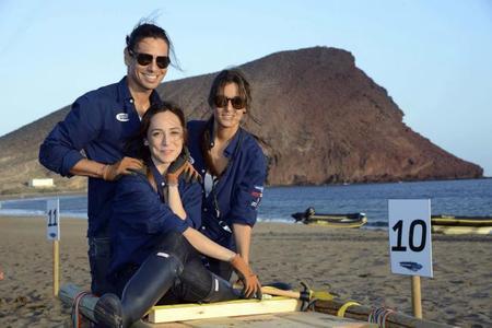 Ana Boyer, Tamara Falcó y Julio José Iglesias Jr