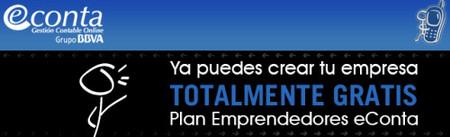 Plan Emprendedores eConta, monta tu empresa gratis (o casi)