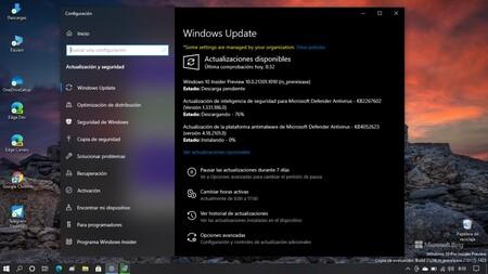 Windows 10 2004 y 20H2 ya tienen actualizaciones opcionales: se corrige un bug al jugar a pantalla completa y más fallos