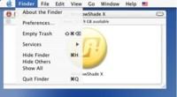ShadowKiller: Desactivar las sombras de los menús para Macs lentos