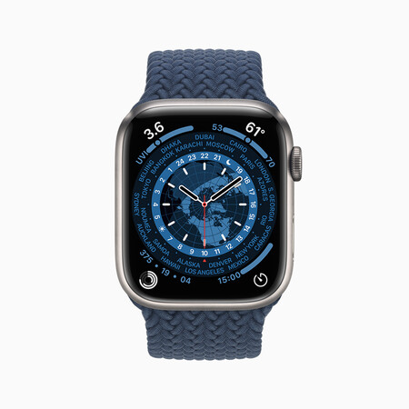 Apple Watch Series7 World Time Face 09142021