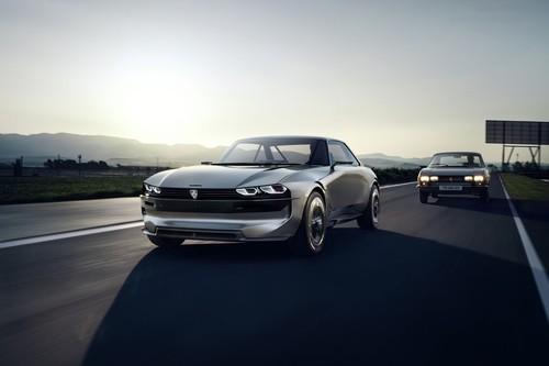 El Peugeot e-Legend Concept es el prototipo del futuro con lo mejor del pasado