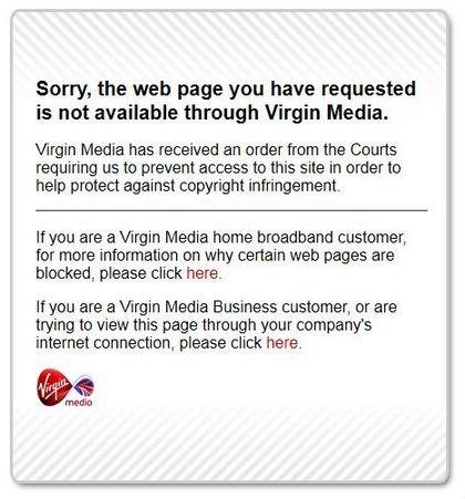 virgin media texto