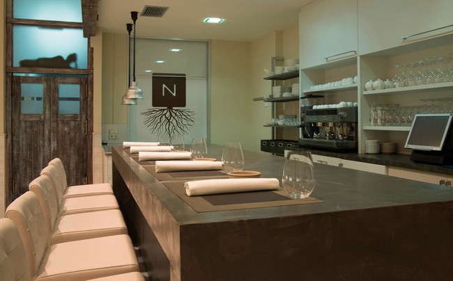 Interior de Nova Restaurante.