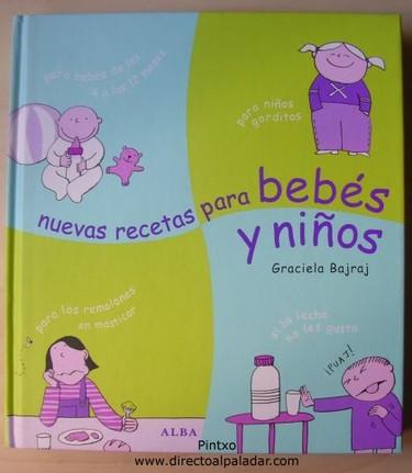 Libro. Nuevas recetas para bebés y niños