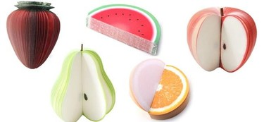 Gajos de fruta recordatorios