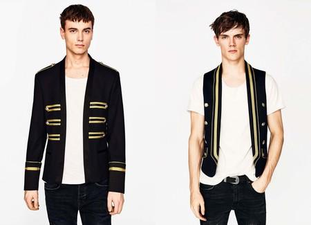 Zara Summer Jacket Militar Clothes