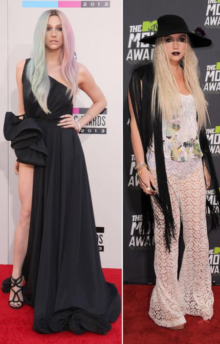 Kesha peor vestidas 2013