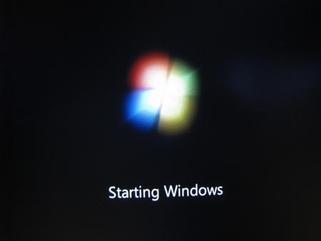 starting Windows 7