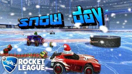 Consejos para jugar en el modo Día Nevado en Rocket League