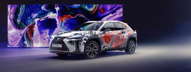 Lexus se pone creativo tatuando un SUV