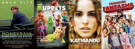 Estrenos de la semana | 3 de febrero |'Moneyball', 'Los Muppets' y algo más