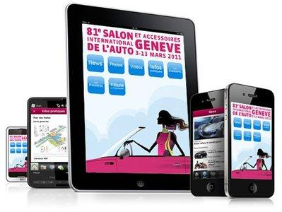 Sigue las novedades del Salón de Ginebra en tu iPhone o iPad