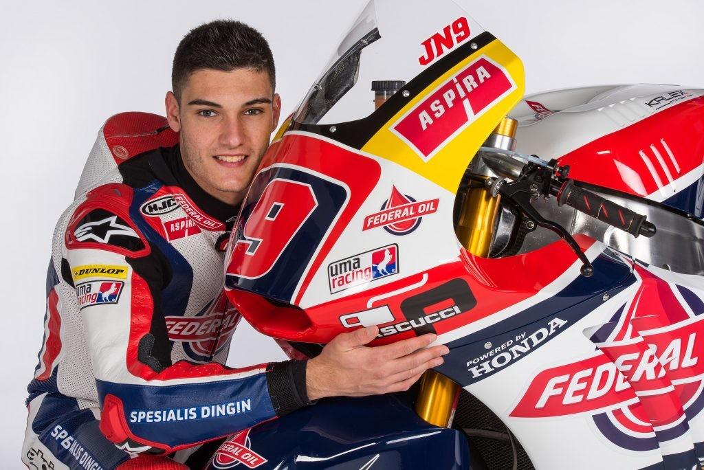 Foto de Presentación Jorge Navarro Moto2 Team Gresini (1/3)
