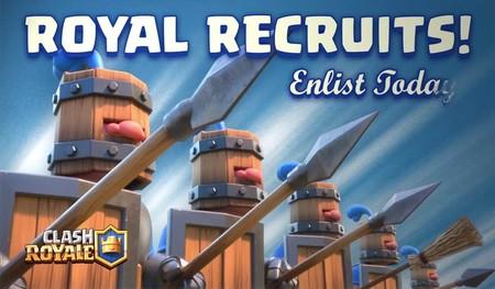 Clash Royale: los Reclutas Reales serán nerfeados (y probablemente a nadie le pille por sorpresa)