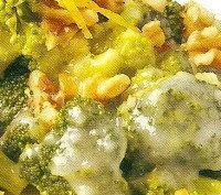 Brócoli con nueces al limón