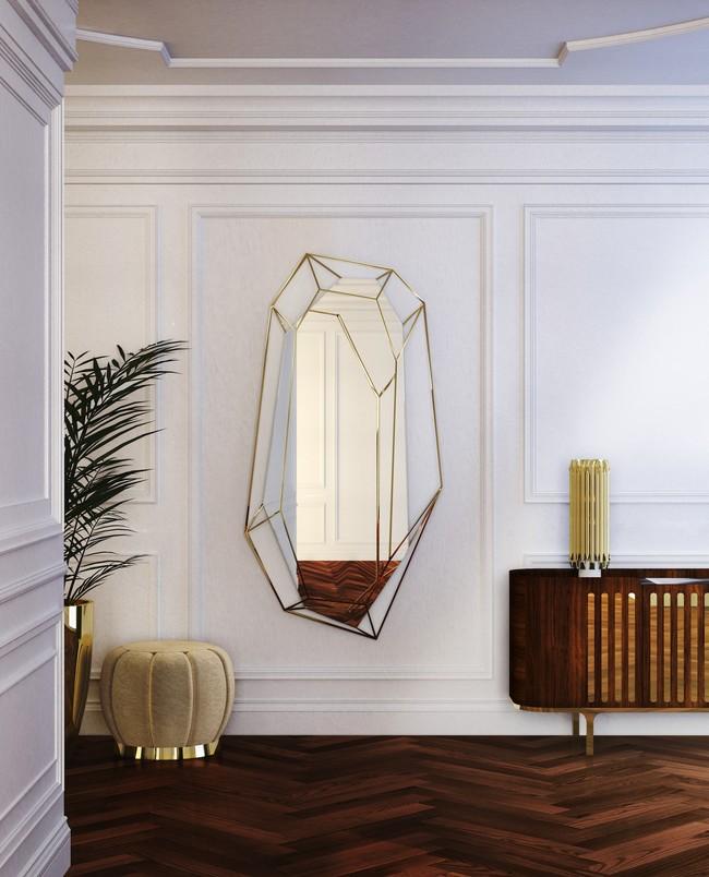 Essentialhome Ambience Midcentury Mirror