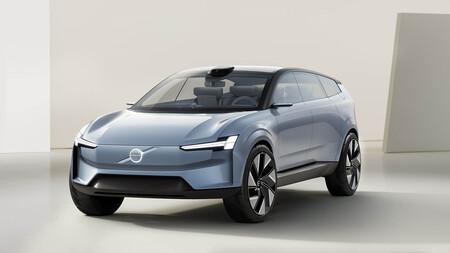 El Volvo Concept Recharge anticipa el estilo y la arquitectura del nuevo Volvo XC90