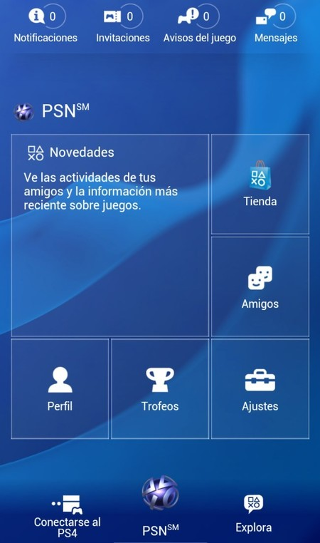 Aplicación oficial de Playstation