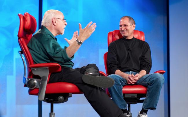 Walt Mossberg Steve Jobs
