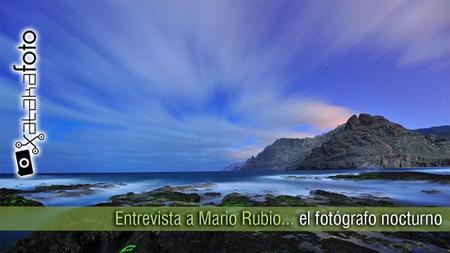 Mario Rubio, el fotógrafo de la noche