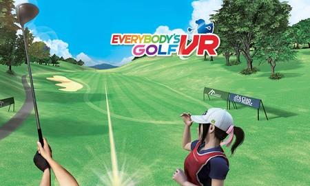 Análisis de Everybody's Golf VR: el juego al que acudirás a partir de ahora cuando necesites relajarte