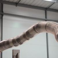Este brazo robótico con forma de serpiente es capaz de colarse en cualquier lado