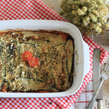 Melanzane alla Parmigiana: la exquisita receta italiana de berenjenas con queso