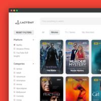 LazyDay: una web minimalista que te ayuda a encontrar rápido una serie o película para ver online