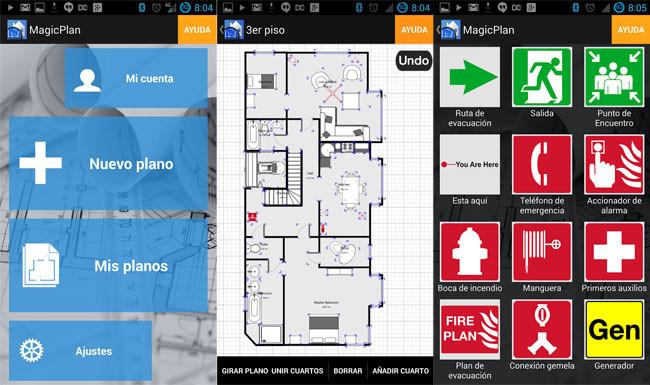 Magicplan para android nos permite realizar planos de for Aplicacion para hacer planos