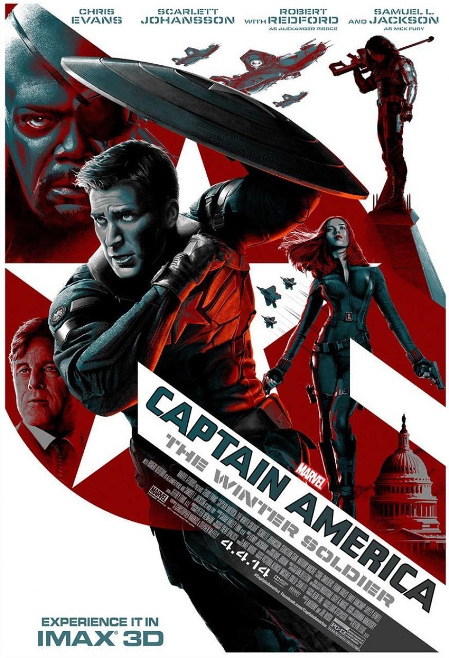 Foto de Carteles de 'Capitán América 2' (22/23)