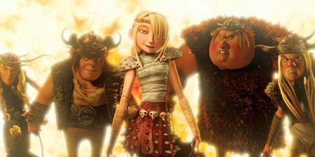 Astrid y los compañeros