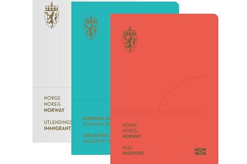 No todos los pasaportes son verdes o de color burdeos